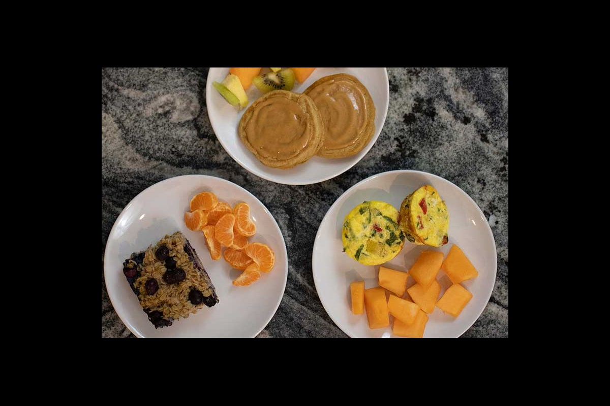 Healthy kids' breakfast meals