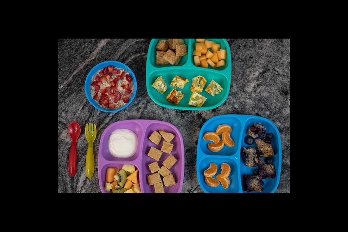Healthy toddler breakfast meals