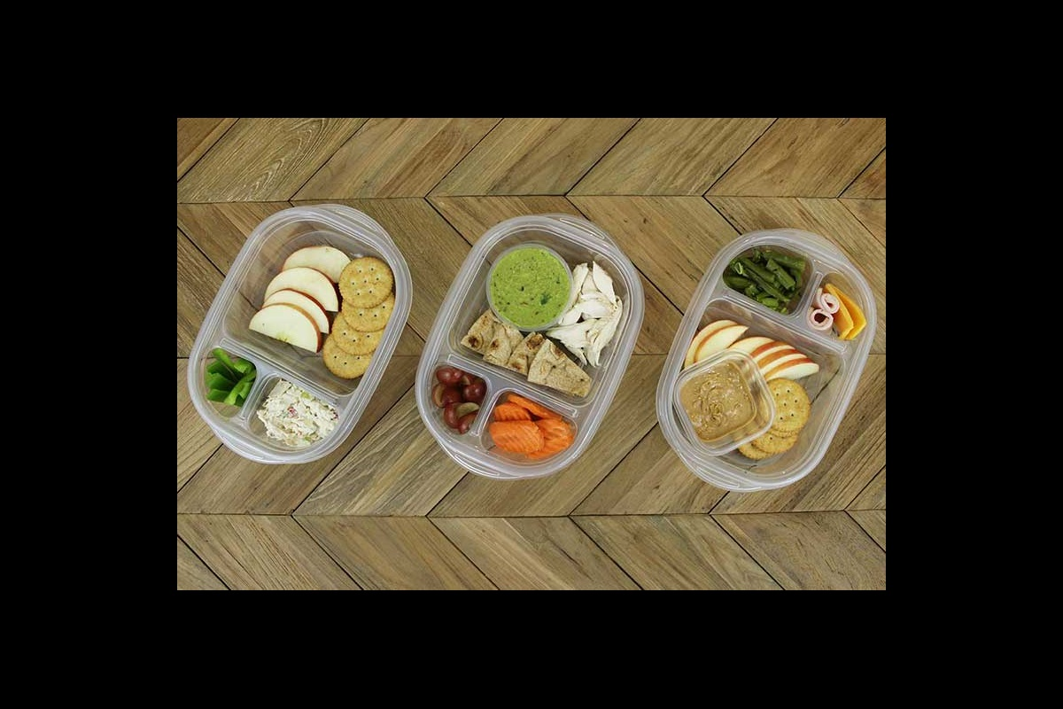 Homemade Lunchables, chicken salad, and chicken and guacamole toddler lunch ideas