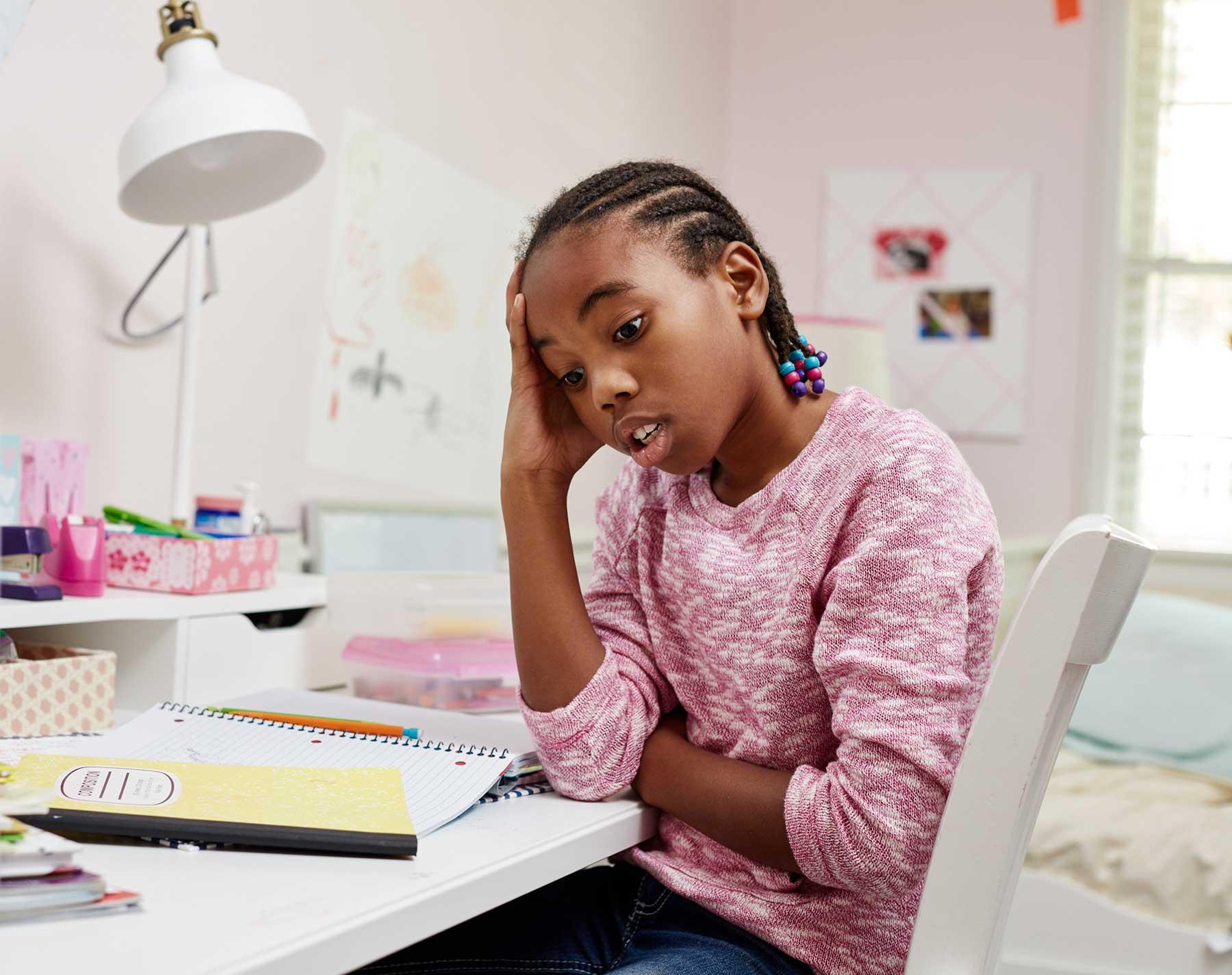 Homework anxiety help