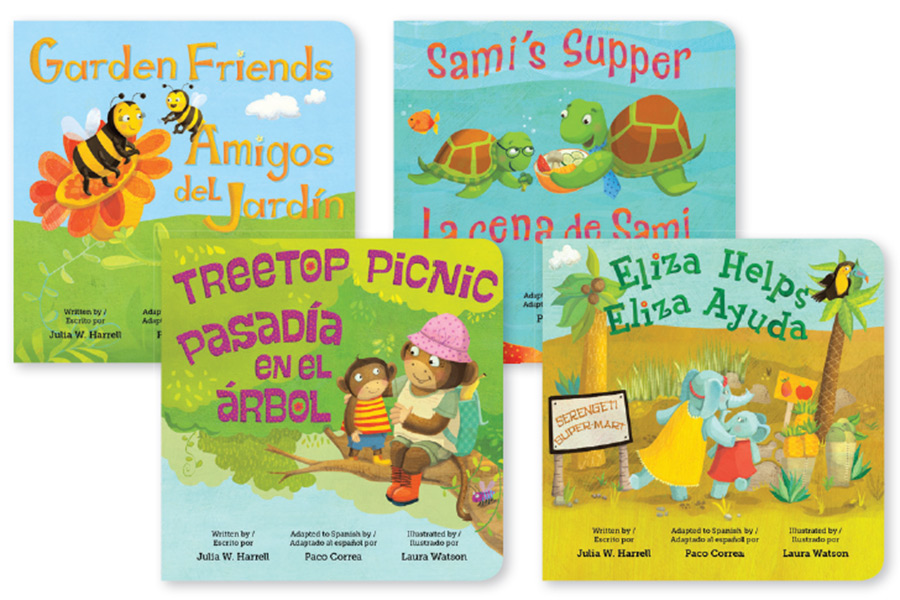 Strong4Life board books